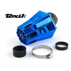 Zračni filter Toxik Air Filter D28-35 Evo 30°- BLUE CROME