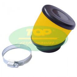 Zračni filter - Top Performance -Rumen - D.49 mm - 30ˇ