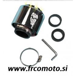 Športni zračni filter ARIA RACING - Ø 28 / 35 -Crome- LED