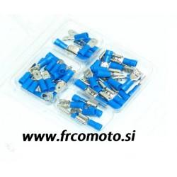Set konektorjev - blue - 50 pcs