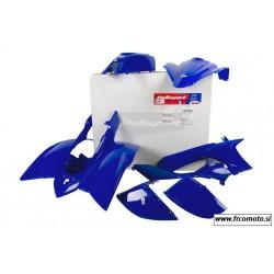 Komplet plastike Polisport  Blue - Yamaha YFZ  450S  04- 08 - 7 delni set
