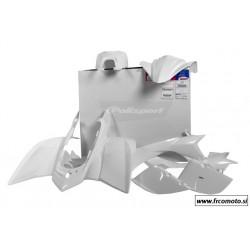 Komplet plastike Polisport  White - Yamaha YFZ  450S  04- 08 - 7 delni set