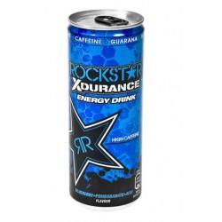 Energijska pijača Rockstar Xdurance Blueberry 250ml