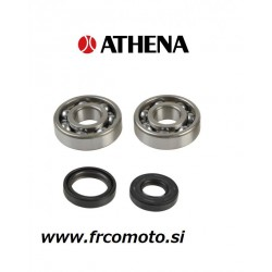 Set of bearings + oil shaft seals - Koyo- YAMAHA YZ125 2005-2014
