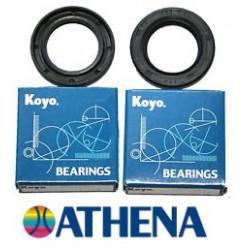 Set ležajev + oljnih tesnil gredi - ATHENA - KOYO -Derbi GPR 125cc ,YAMAHA TZR , TDR , DT , DTR