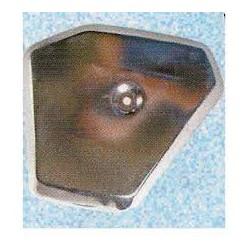 Filter cover - Chrome - original - T14 / T15 - right