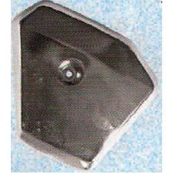 Pokrov filtra - Crome - original - T14 / T15 - levi