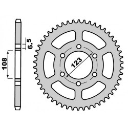 Lančanik 420 - Z50 -Derbi DRD, Aprilia RS,  GPR NUDE R