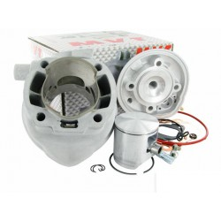Cilinder kit MVT Alu-  90cc Minarelli horizontal-12mm- Aerox- Nitro- SR
