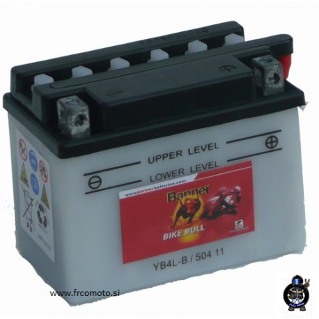 Akumulator   YB4L-B     ( 12V 4Ah )