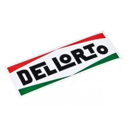 Sticker Dellorto 90x30mm