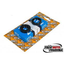 Set of bearings + oil seals TEC Metal C3 - AM6