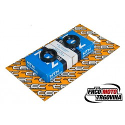 Set of bearings + oil seals -TEC Metal C3 Gilera / Piaggio