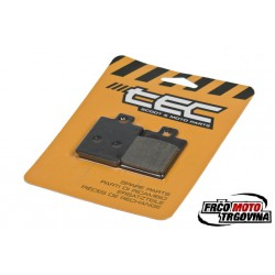 Brake pads TEC 35.86x49x7mm - Piaggio , Gilera , Vespa