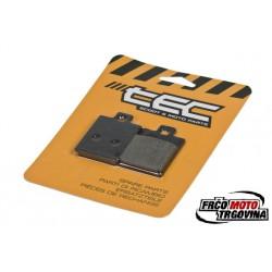 Zavorne ploščice TEC 35.86x49x7mm - Piaggio / Gilera / Vespa