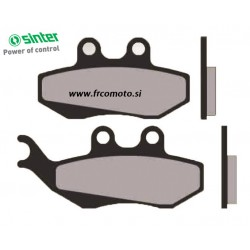 Brake Pads Sinter - Yamaha TZR, Gilera DNA 50, 180, 125 Runner