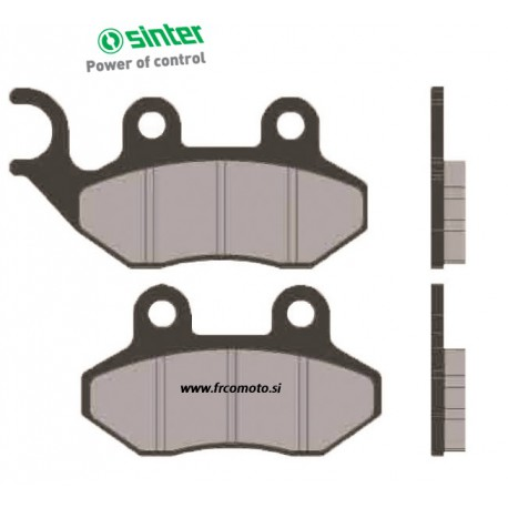 Brake Pads Sinter - SYM Jet Jungle, Mask, Alpha, Cagiva CIty