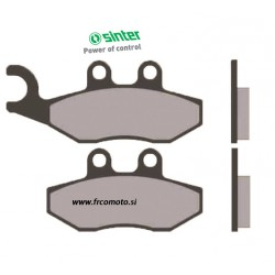 Brake Pads Sinter -Gilera Runner, DNA, GP800, Nexus 300, Aprilia Sportcity