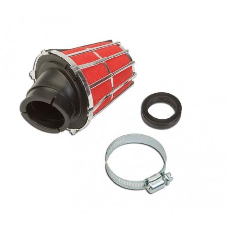 Športni zračni filter ARIA 45°   T4tune CROME