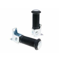 Passenger foot peg set for Simson S50
