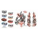 Naljepnica  TNT Skull - Tribal