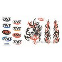 Sticker TNT Skull - Tribal