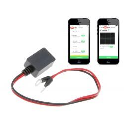 Monitor baterije - akumulatorja z bluetooth za pametne telefone in tablične računalnike (iOS, Android)