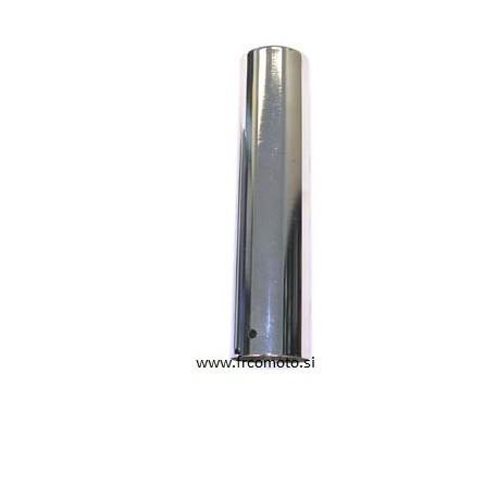 Ščitna cev zadnjega vzmetnega blažilca - Crom - 145mm