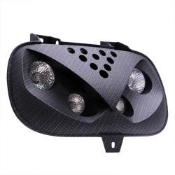 Sprednja luč Quattro Optik MP91 BLACK - MBK / Yamaha -BWS / Booster