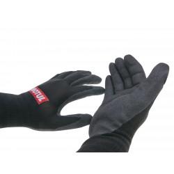 work gloves Motul nitrile coated size 8