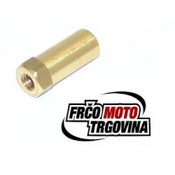 Exhaust nut brass M6