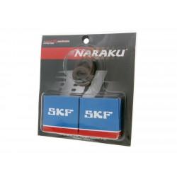 Set ležajev- oljnih tesnil -NARAKU - SKF C4 -Metal Cage -Peugeot Horizontal