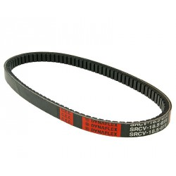 Belt Dayco 732*18.5 -Piaggio (kratek blok )-ZIP 2, ZIP 4T, Vespa ET2, LX, LXV, S50 and Vespa S50 4T