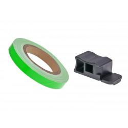 Traka felge / kotač stripe 7mm - lime zelena - 600cm