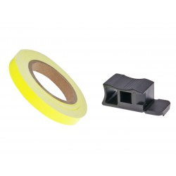 rim tape / wheel stripe 7mm - neon yellow - 600cm