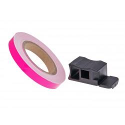 Trak platišča 7mm  Pink  600cm