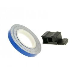 Traka felge / kotač stripe 7mm - plava/i - 600cm