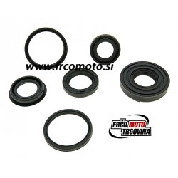 engine oil seal set - 6-part for Minarelli