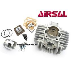 Cilinder kit Airsal 65cc- 10 sorik - Tomos A3