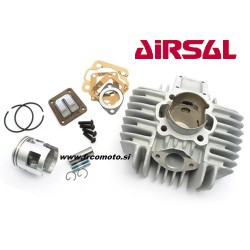 Cylinder kit Airsal 65cc  10mm  pin  Tomos A3