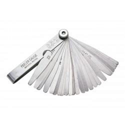 Pripomoček za nastavlanje platin / ventilov - Silverline 26 pcs  (0.051-0.635mm)