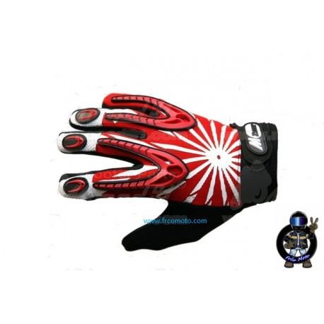 Rokavice - Gel -M Zone X2 - XL -Red