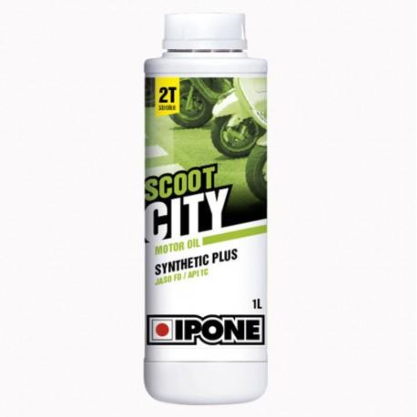 OLJE 2T-IPONE  Scoot city 1L jagoda  50% Synthetic