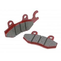 brake pads organic for Aeon, Arctic Cat, Kymco, MBK, MuZ, Yamaha