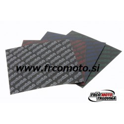 CARBON SHEETS 110X100 th. 0,30 BLUE