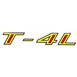 """Nalepka Tomos T- 4L """" ± '69-'72 """""""