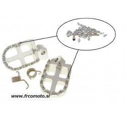 n8tive spare pin set steel M4x4 40 pcs sharp - silver