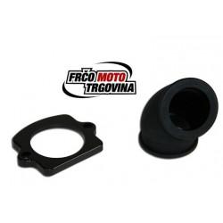 Intake pipe C4 - Twisting - Piaggio / Gilera 24mm - 360°
