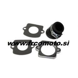Intake pipe  C4 - 360° - 24mm - Peugeot Horizontal