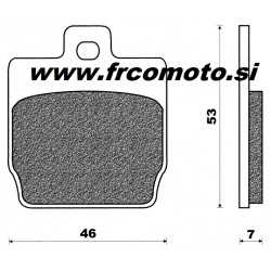 Zavorne ploščice C4  Yamaha Aerox , Nitro